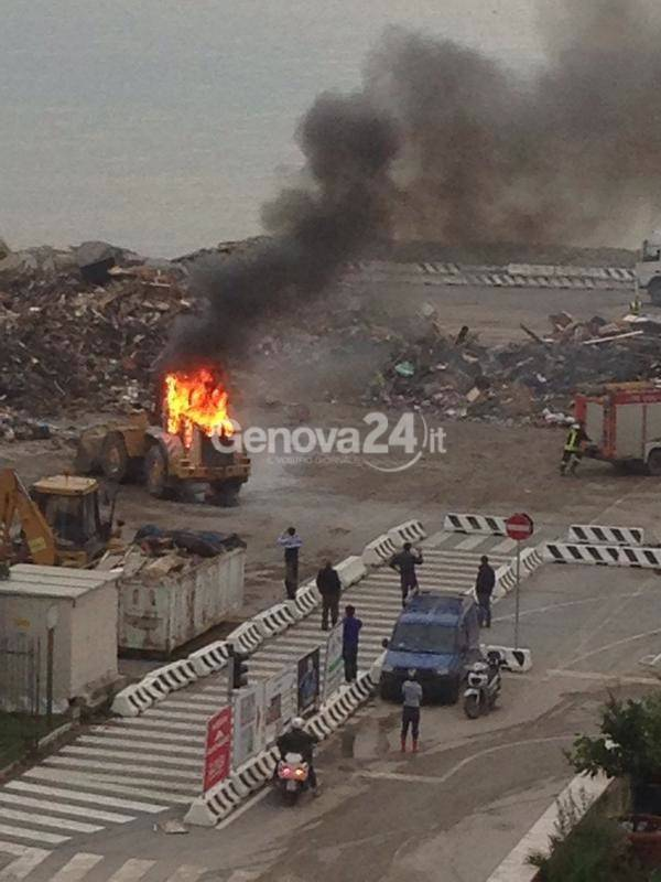 incendio piazzale kennedy