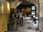 Savonesi volontari alluvione Genova