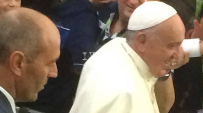 Tre savonesi dal Papa