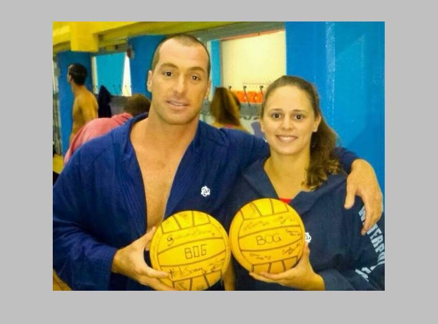 Arnaldo Deserti e Carola Falconi