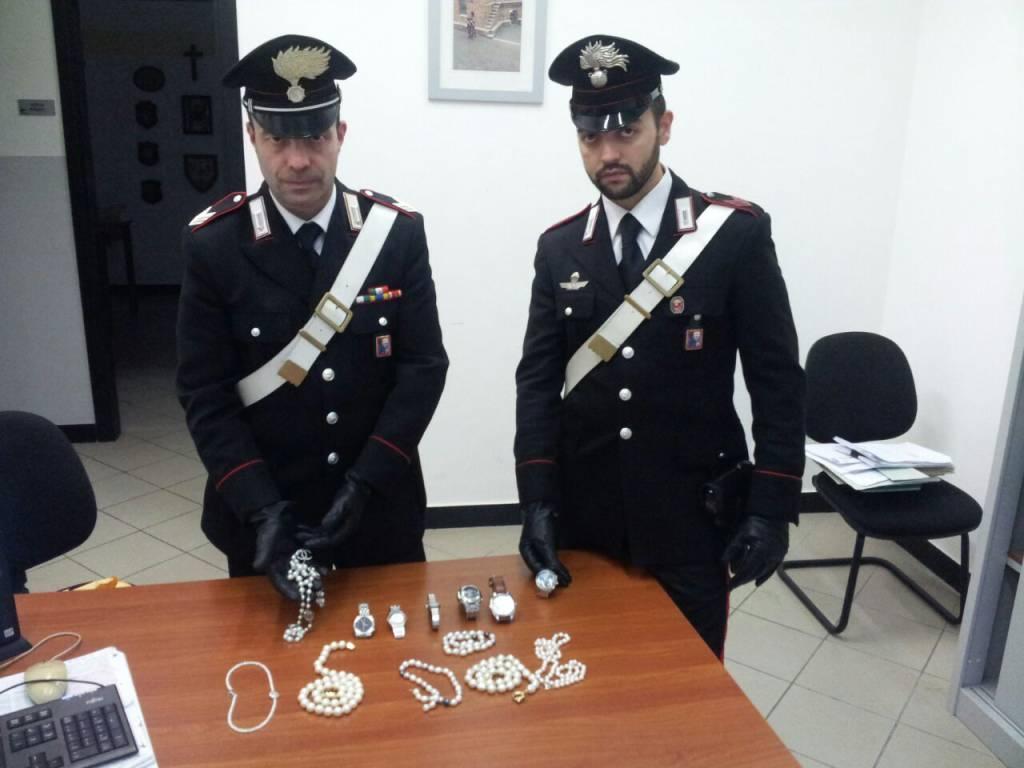 carabinieri rapallo monili
