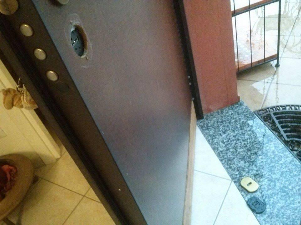 porta scassinata