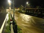 fiume piena allagamento maltempo sansobbia