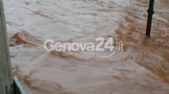 Maltempo Genova, flagellato il ponente
