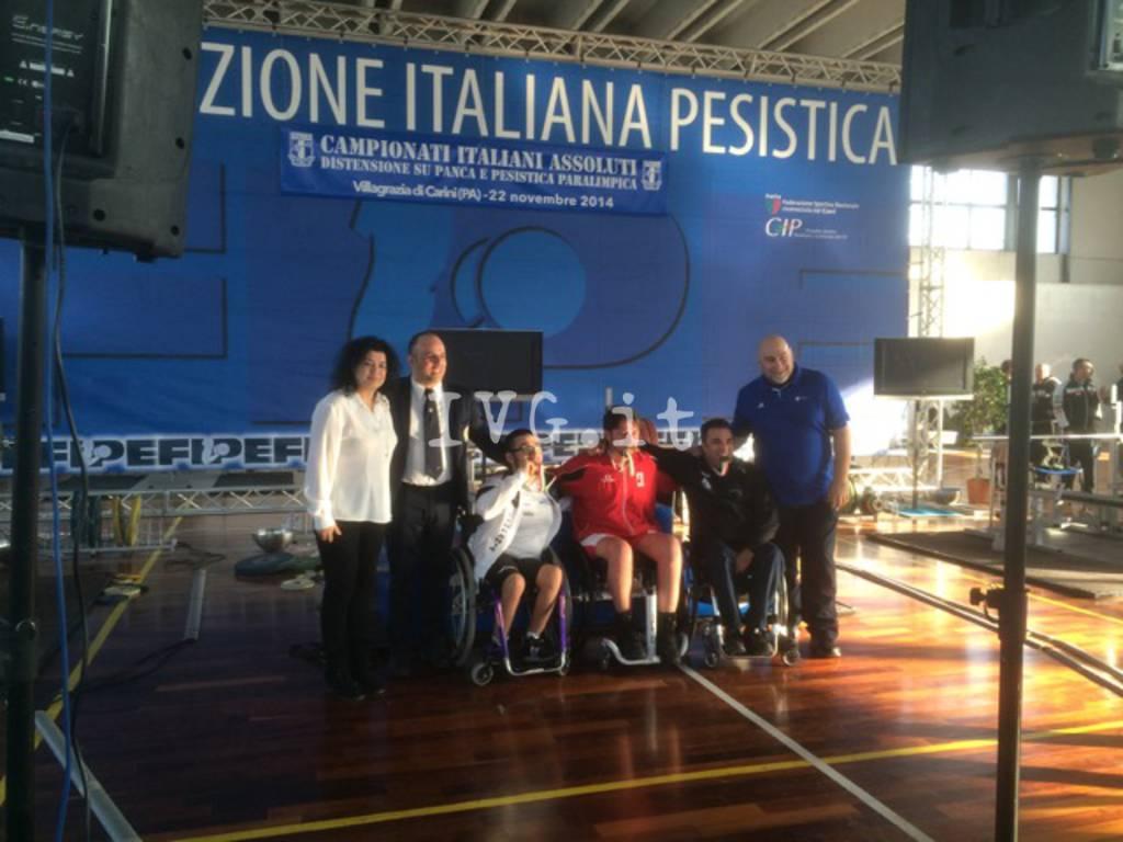 Pesistica, gli atleti della Palextra premiati agli Italiani