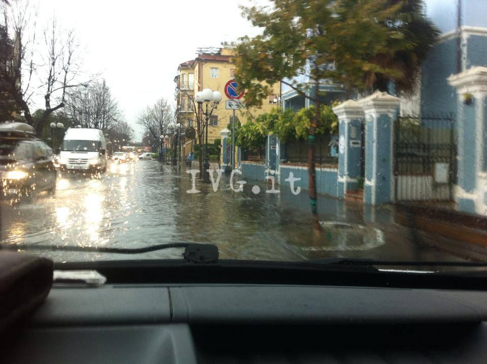 pioggia albenga 25 novembre