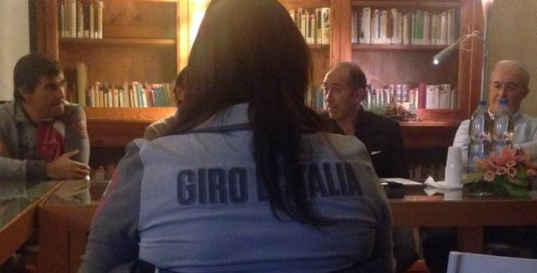 riunione Giro d'Italia Albenga