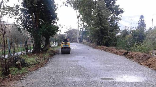 strada garlenda maltempo
