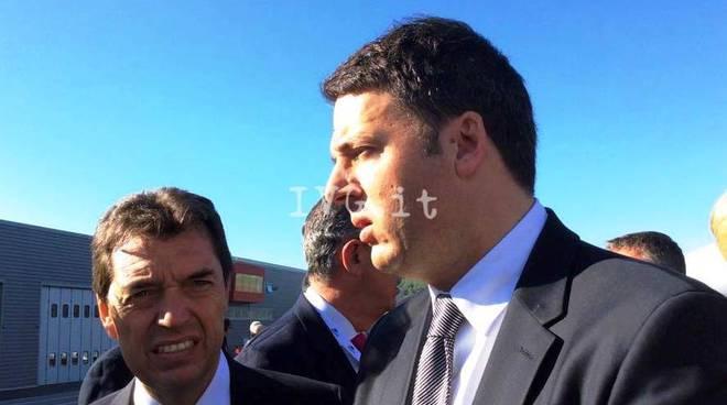 Matteo Renzi al voto nel suo circolo