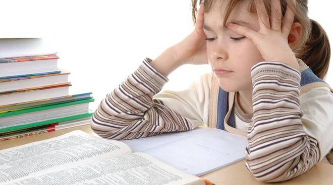 dislessia bimba che studia
