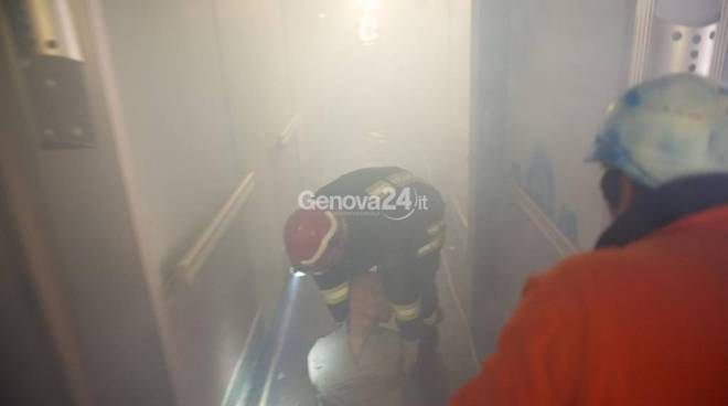 Esercitazione antincendio sulla Concordia