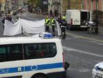 Incidente mortale in piazza Barabino