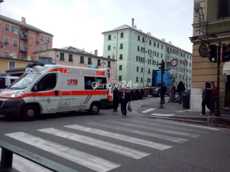 incidente sestri ponente bergese