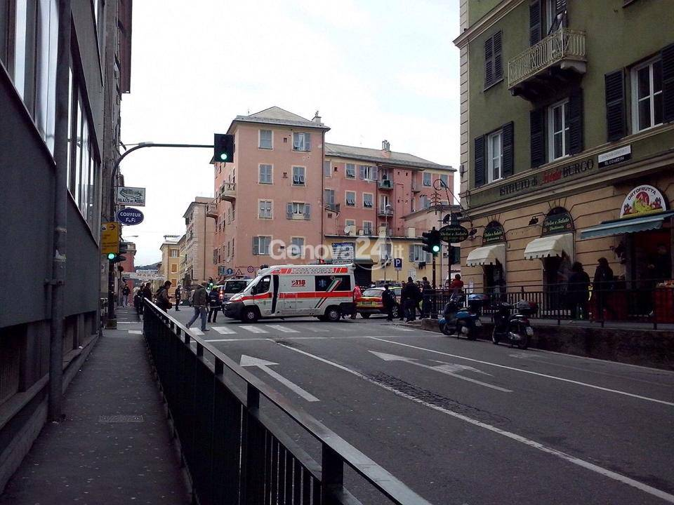incidente sestri ponente bergese