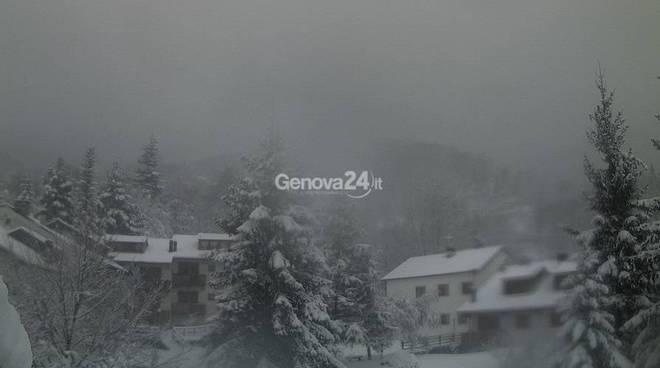 neve a Rocca d'Aveto