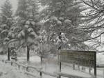 Nevicata al rifugio Pratorotondo nel Parco del Beigua