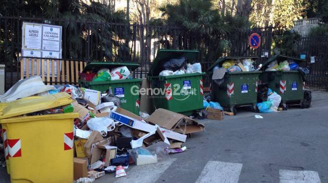 rifiuti spazzatura amiu