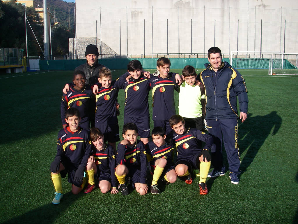 Alassio Winter Cup, Esordienti 2003