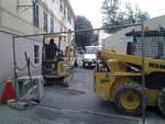 Albissola Marina, lavori alla fognatura di via Bruciati