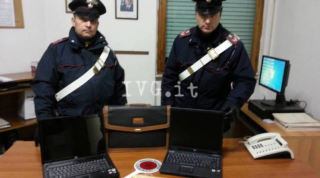 carabinieri cairo sequestro pc