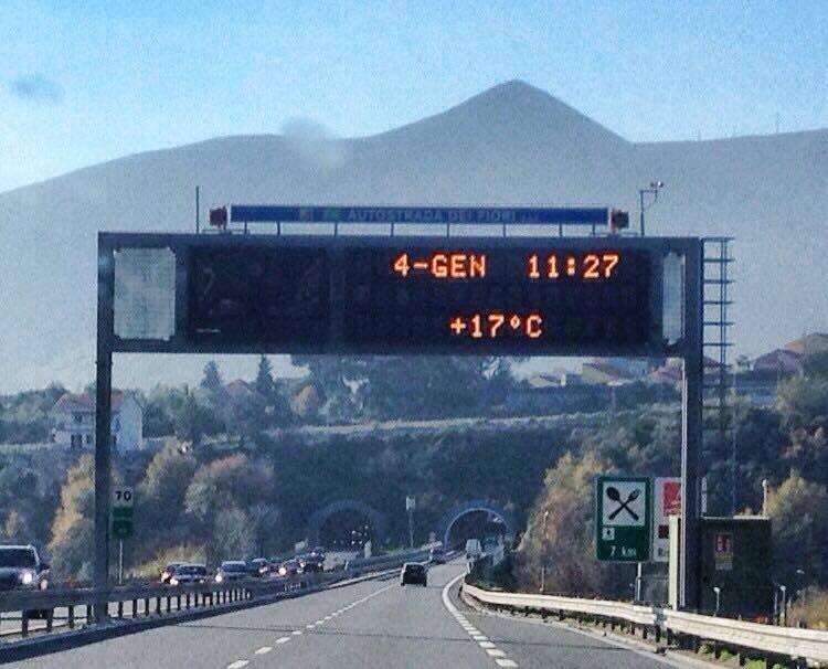 cartello autostrada