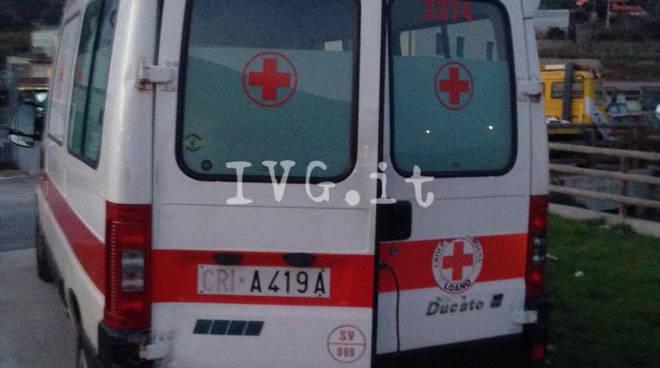 Loano Ambulanza Speronata Auto Pirata