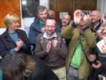 Genova - lo spoglio delle primarie visto dalla federazione del PD