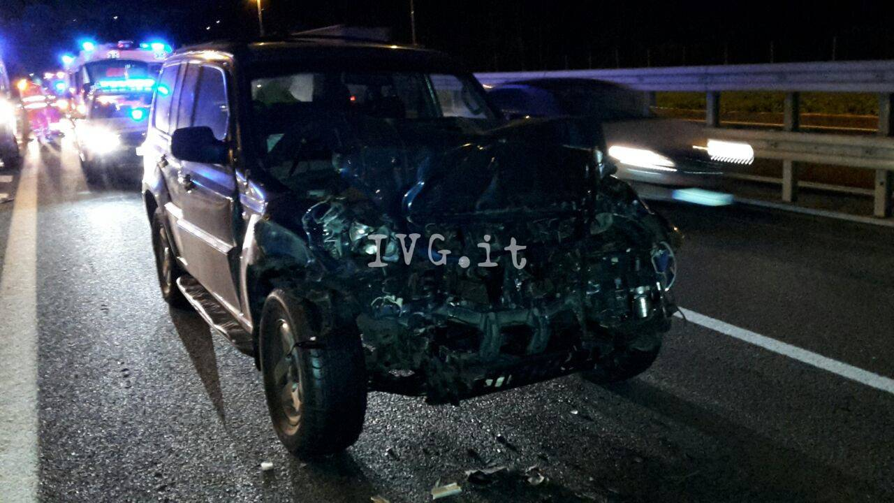 incidente a10 spotorno