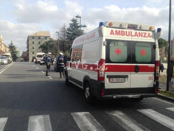 incidente ambulanza