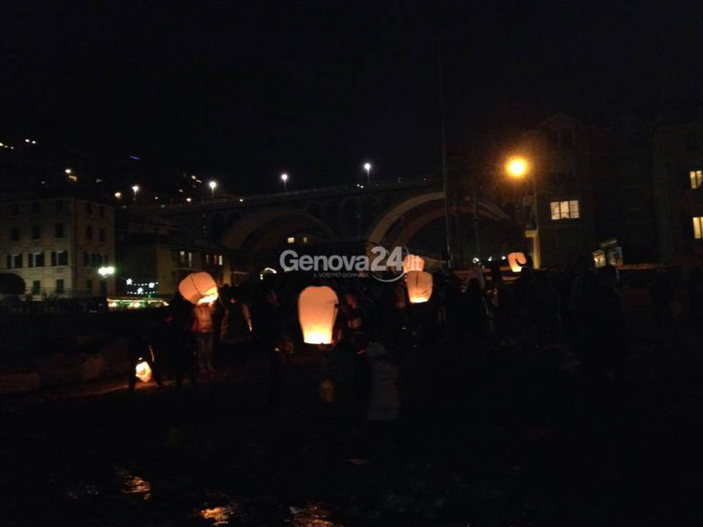 lanterne della speranza a sori