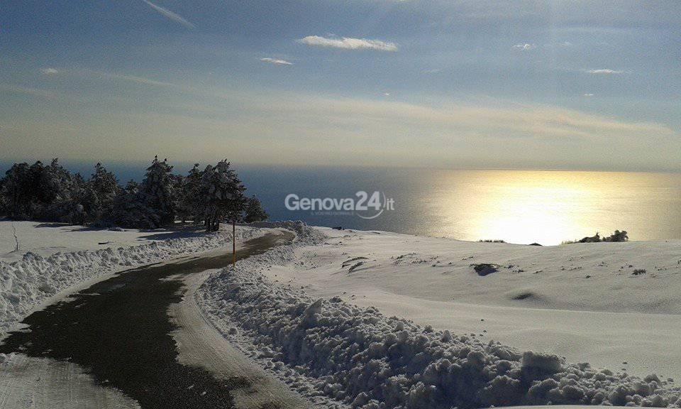 Neve al Rifugio di Pratorotondo