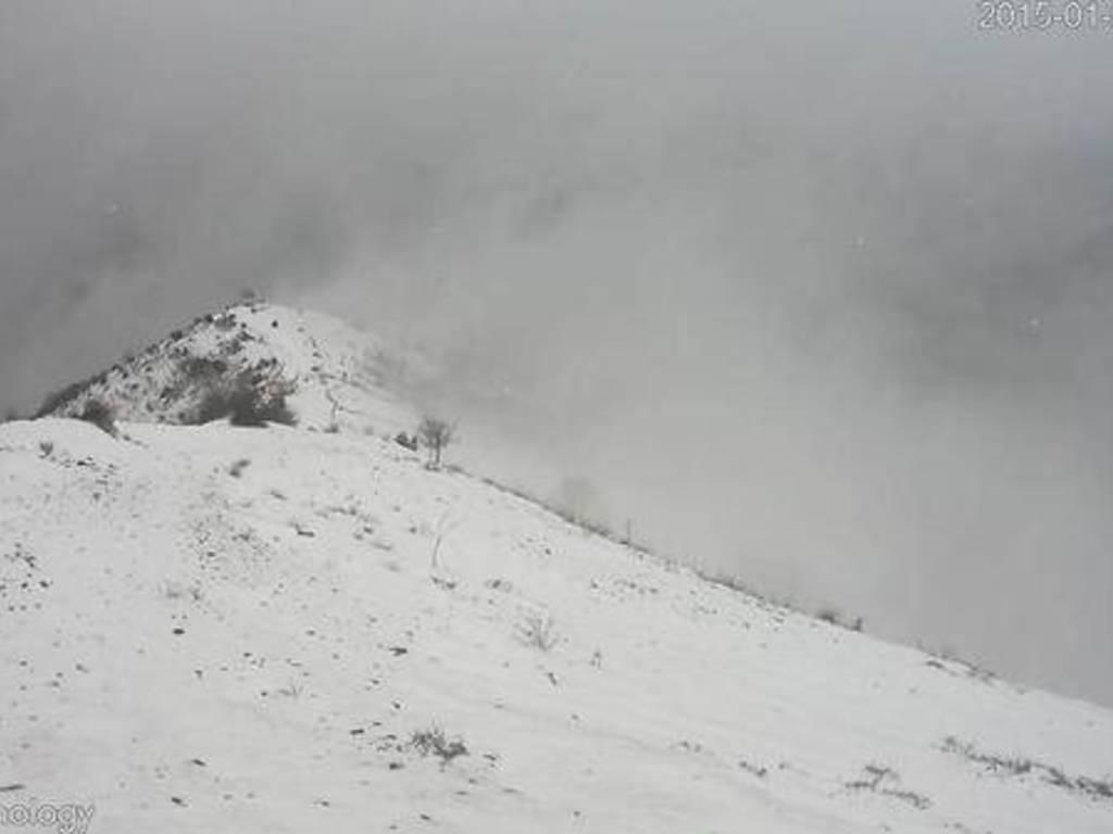 Neve nell'entroterra di Genova e del Tigullio