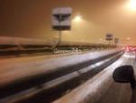 Neve sulle autostrade genovesi, A26 bloccata