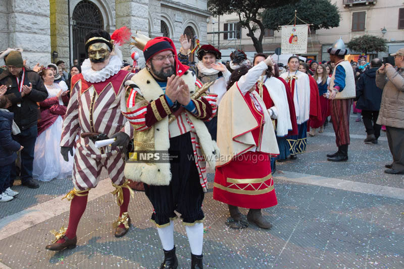 Savona carnevale arrivo Cicciolin