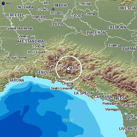 terremoto val d'aveto