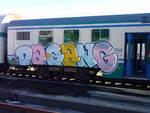 treno atti vandalici