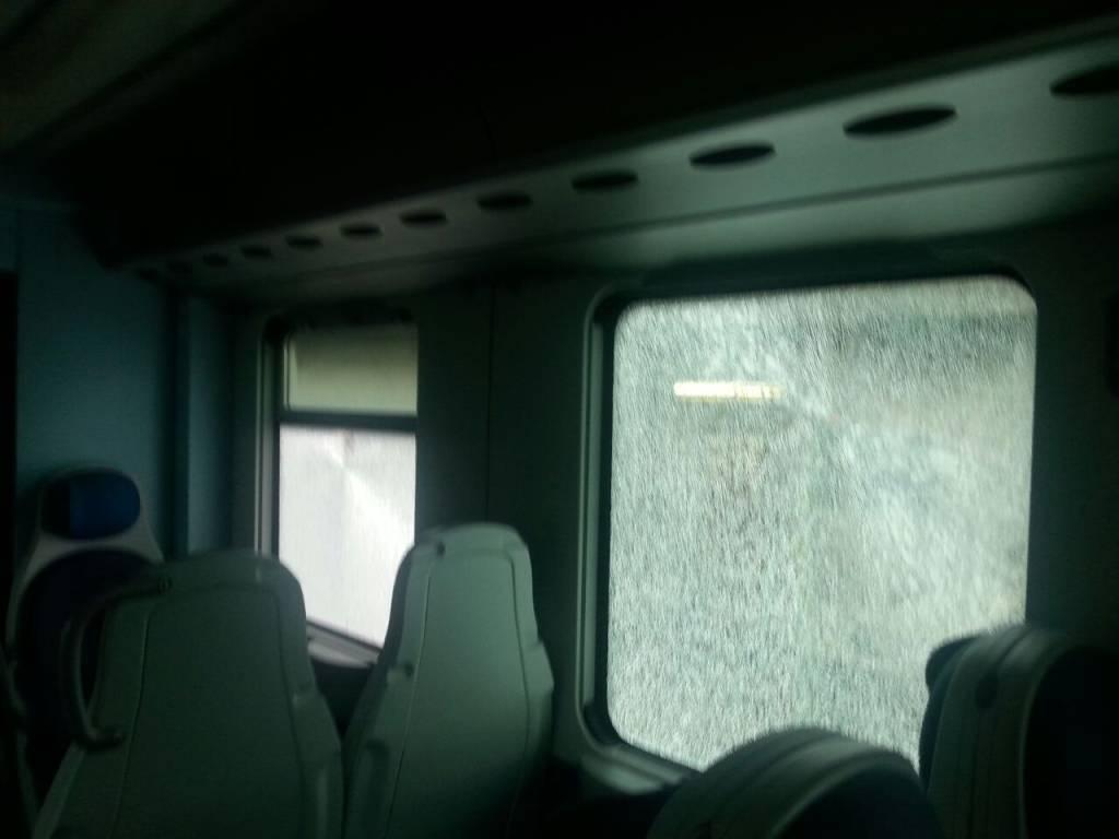 treno, atti vandalici