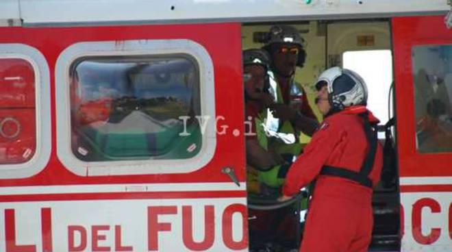elicottero vigili fuoco