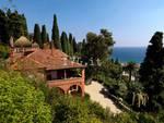 Alassio, i giardini di Villa Pergola