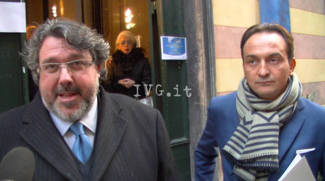 Albenga, l'Eurodeputato Cirio incontra il territorio