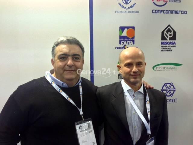 Angelo Siclari (ACO Liguria) e Alessandro Marcelli (ASSONAT)