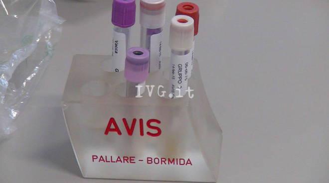 Avis sangue pallare savona donazione