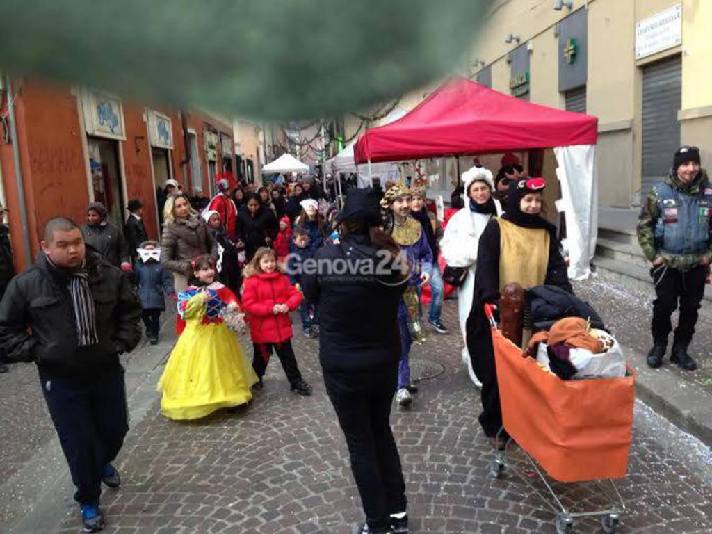 Carnevale a Sampierdarena