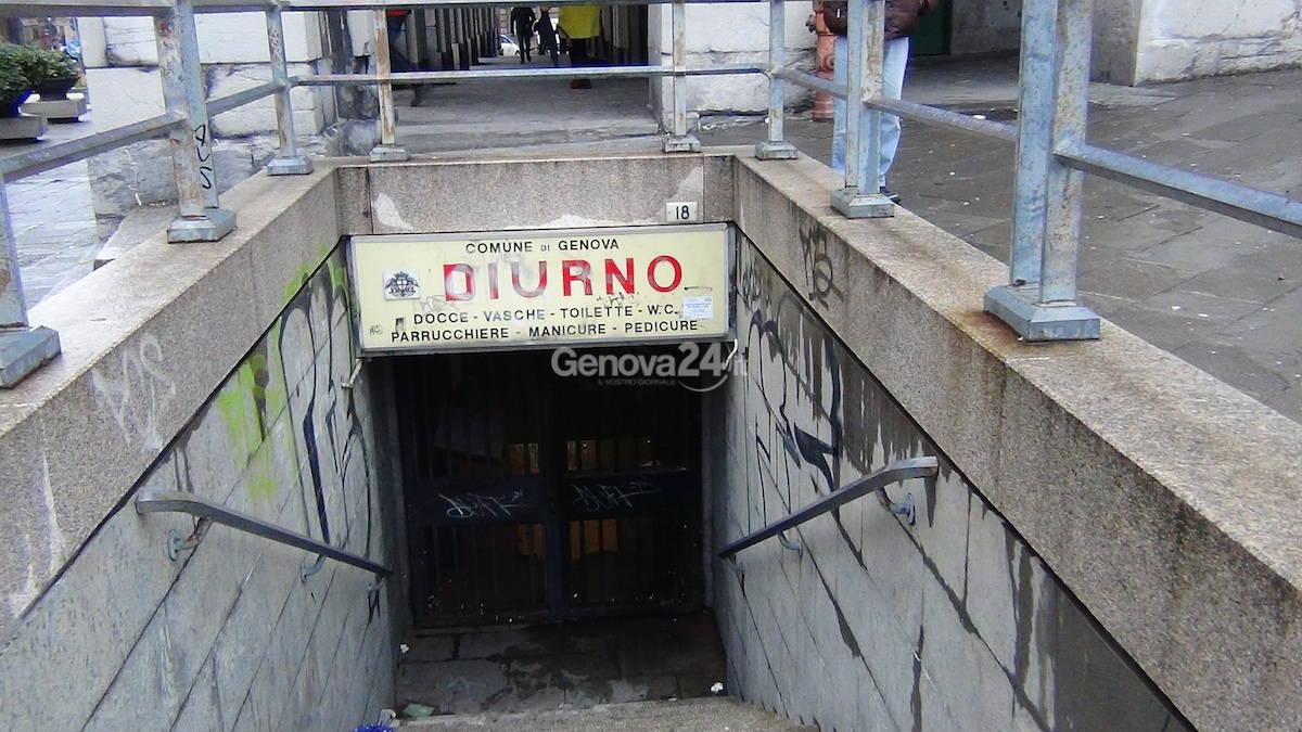Chiuso il diurno di Genova