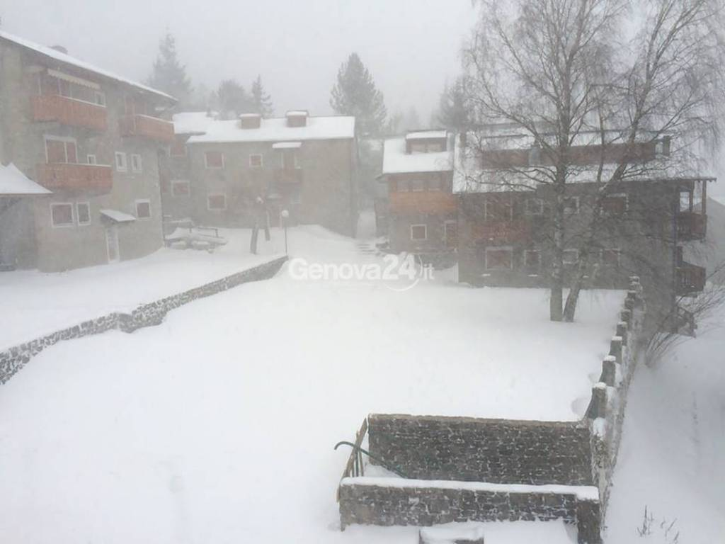 Forti nevicate nelle valli