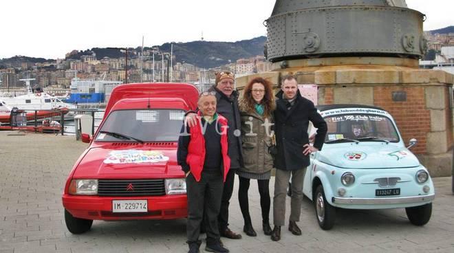 """Garlenda, il Fiat  Club dona una """"Giardiniera"""" per i piccoli ospiti del Gaslini"""