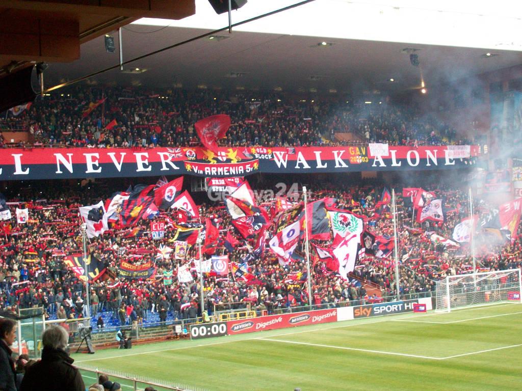 Gradinata Nord Genoa Verona