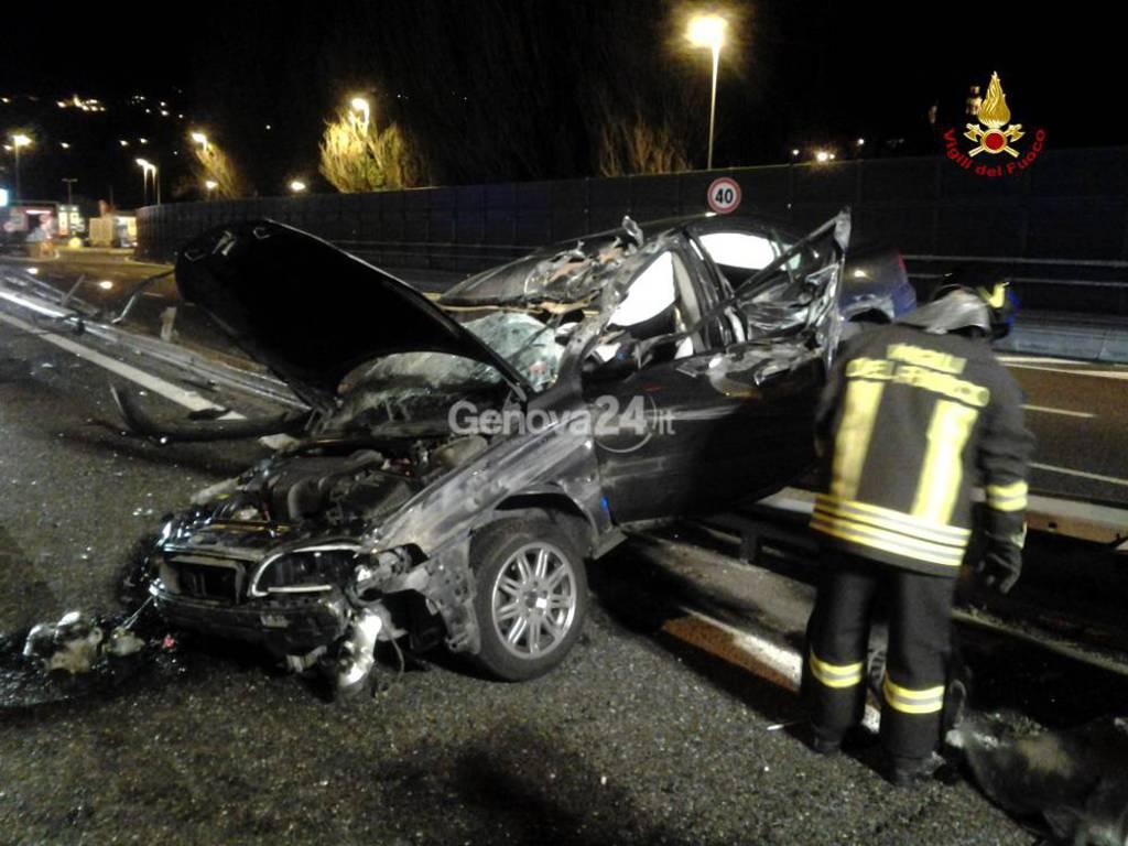 Incidente a Sestri Levante sulla A12