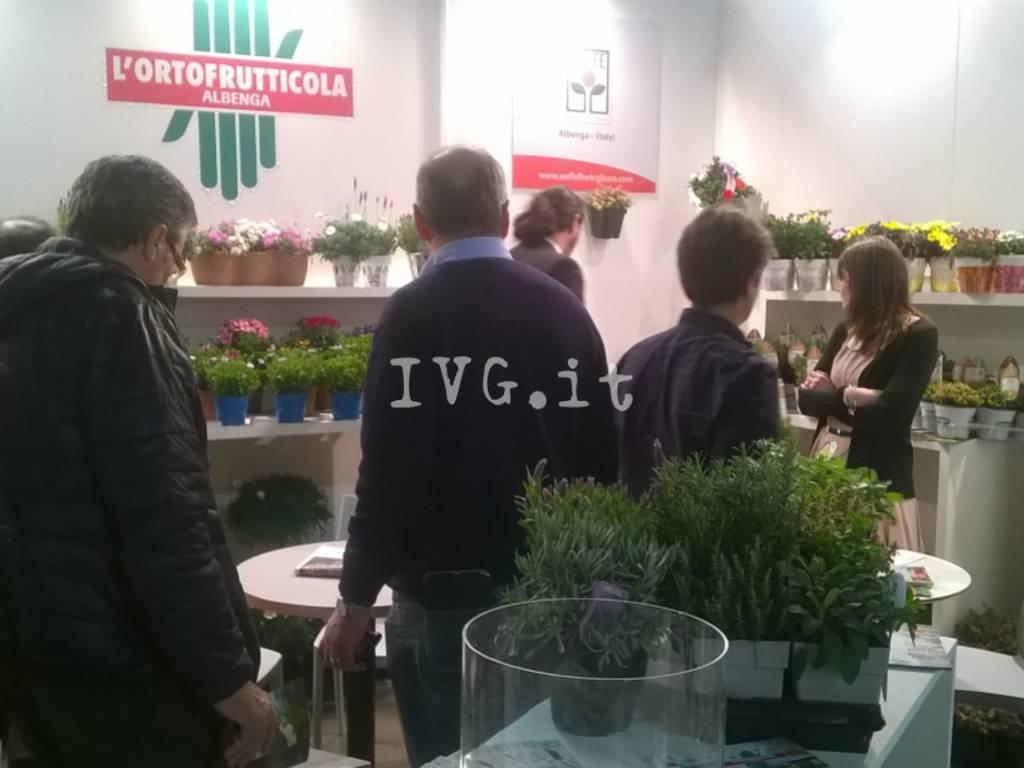 """Le piante e i fiori di Albenga in bella mostra al """"Myplant & Garden"""" di Milano"""