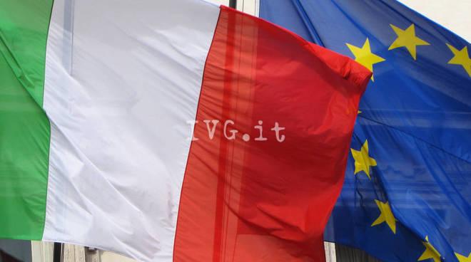 bandiera italia europa